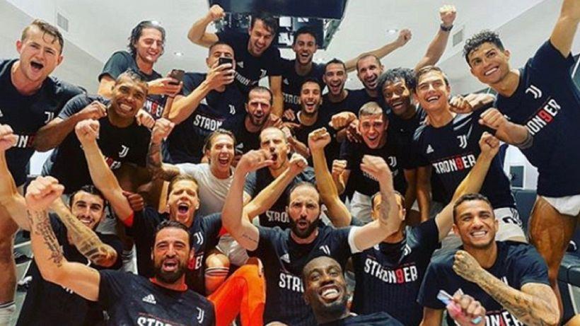 Scudetto Juventus, la toccante dedica di Cristiano Ronaldo e Bonucci