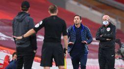 """Lampard e Klopp, tensione in panchina: """"Stai zitto e vaff..."""""""