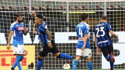 Lautaro, gol e rabbia: l'Inter stende il Napoli