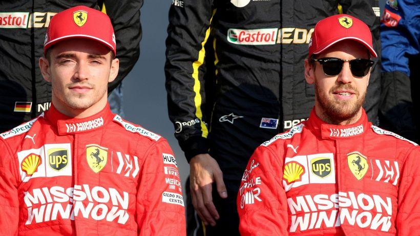 F1, Ferrari: Leclerc esulta, Vettel manda una frecciata