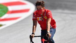 """Leclerc: """"Al 99% faremo più fatica dell'anno scorso"""""""