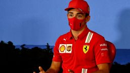 """F1, Leclerc esalta la Ferrari: """"E' come una vittoria"""""""