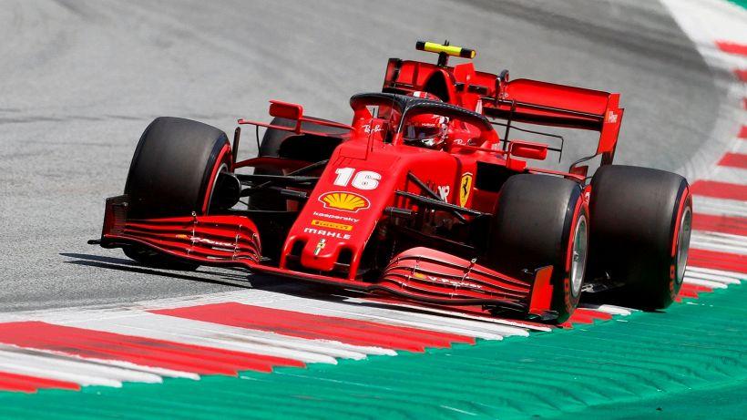 F1, la Ferrari stupisce Charles Leclerc