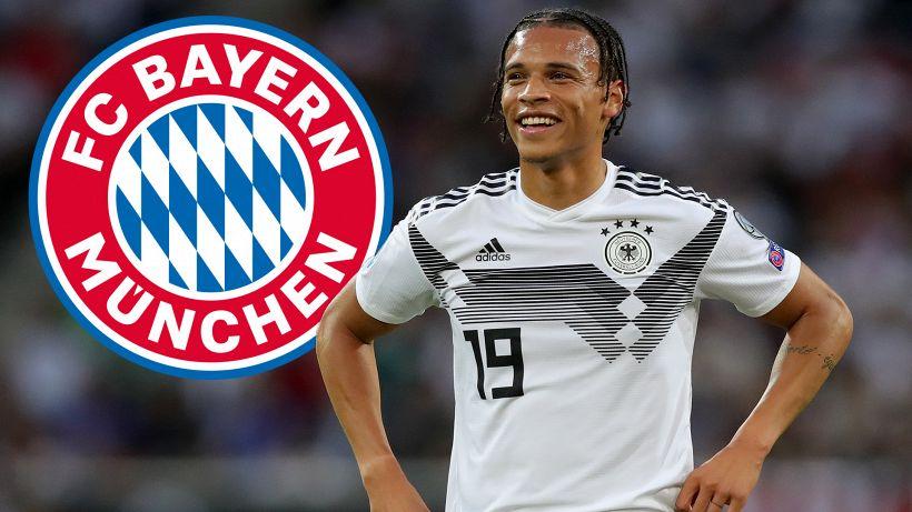 Leroy Sané è un nuovo giocatore del Bayern Monaco