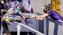 Valentino Rossi: un lampo di gioia in un giorno buio