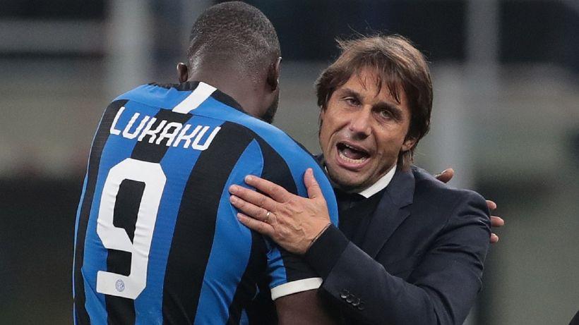Inter, Antonio Conte sprona Lukaku