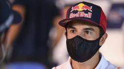 "MotoGp, Marquez: ""Il Coronavirus c'è ancora"""