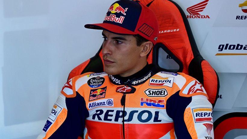 """MotoGp, Marquez: """"Il braccio era come morto"""""""