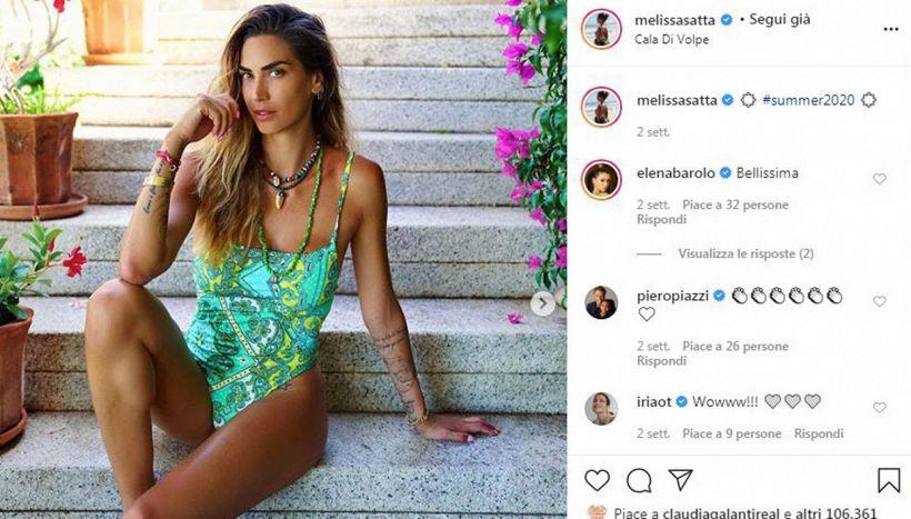 Melissa Satta più forte del lockdown annuncia la nuova maternità