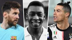 """Tostao: """"Solo un ibrido Messi-Ronaldo può avvicinarsi a Pelè"""""""