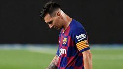 Mercato Inter: Lionel Messi furioso, arriva il colpo di scena