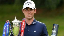 Golf: per Paratore la vittoria più bella