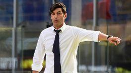 """Roma, Fonseca: """"Abbiamo commesso errori che non dovevamo fare"""""""
