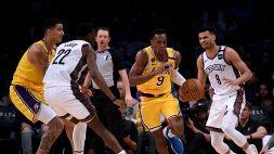 NBA, brutte notizie per i LA Lakers