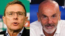 Il Milan si spacca: Rangnick contro Pioli, si scatena il dibattito