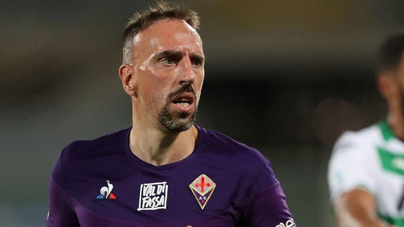 """Franck Ribery ha deciso: """"Voglio restare a Firenze"""""""