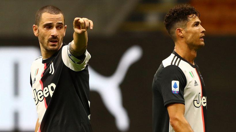 Juventus: le reazioni di Ronaldo e Bonucci dopo il pesante ko