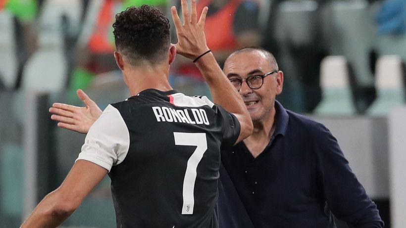 Juventus: Sarri parla delle condizioni di Cristiano Ronaldo