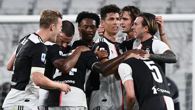 Juventus campione d'Italia, gol scudetto di Ronaldo. Dybala ko