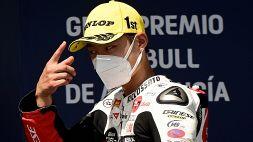 Moto3, Suzuki ko: frattura del polso
