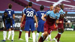 Premier League: cade il Chelsea, poker dell'Arsenal