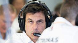 F1, Wolff svela i retroscena sulla nuova livrea della Mercedes