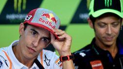 MotoGp: Marquez, record vicino e frecciata a Valentino Rossi