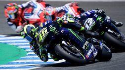 MotoGp: cuore Valentino Rossi, è terzo. Trionfa Quartararo