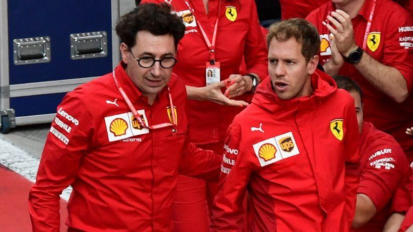 """F1, Binotto: """"Vettel? Nulla di scontato"""""""