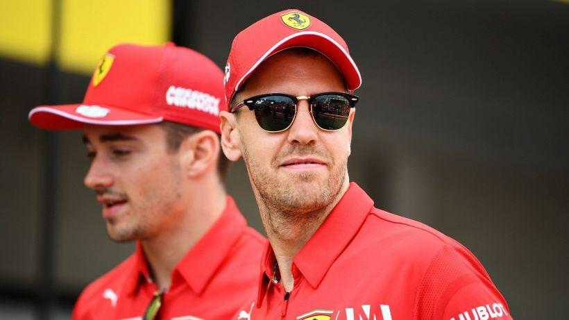 """F1: Ferrari, tensione Vettel-Leclerc: """"L'ha distrutto in poco tempo"""""""
