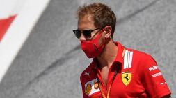 """F1, Ferrari: circus sconcertato da Vettel: """"Ma cosa gli succede?"""""""
