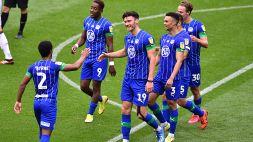 Wigan da urlo: sette gol in un solo tempo