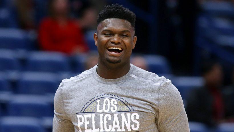 NBA, i Pelicans aspettano Zion