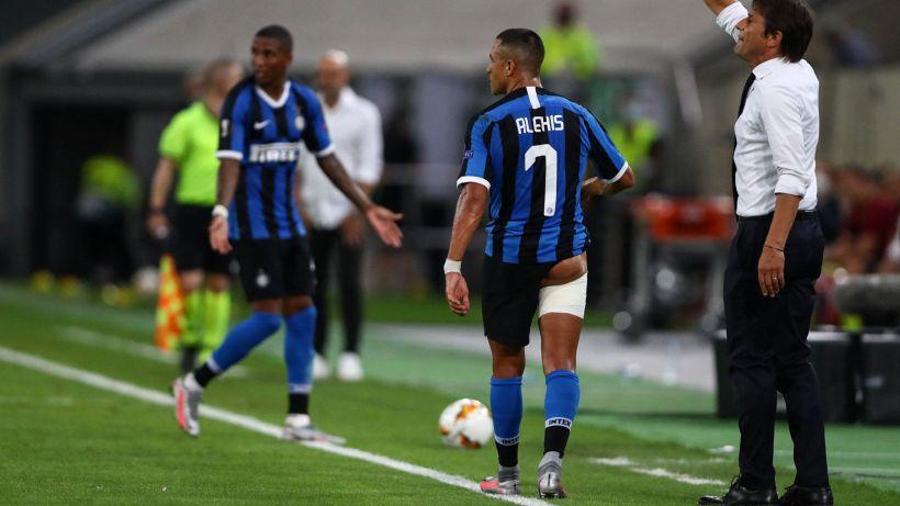 Inter, ansia per l'infortunio di Alexis Sanchez