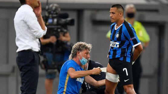 Tegola Inter, le condizioni di Sanchez