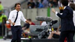 Conte, gioia e rabbia: Lukaku da record, ma c'è un infortunio
