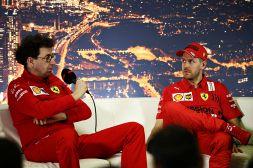 """F1, crisi Vettel-Ferrari, critica al veleno: """"Binotto è inadatto"""""""