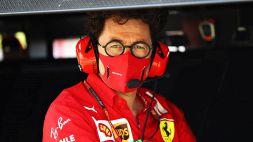 F1, Ferrari: Mattia Binotto si sbilancia sulle prospettive di Carlos Sainz