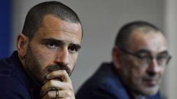 """Bonucci carica la Juve: """"Fondamentale l'energia nello spogliatoio"""""""