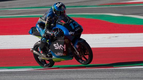 Moto3, Gp Stiria: prima gioia per Celestino Vietti
