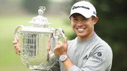 Collin Morikawa, le foto del trionfo nel PGA Championship
