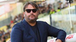 Il saluto al Parma di Daniele Faggiano