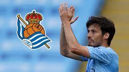 Lazio beffata: David Silva alla Real Sociedad