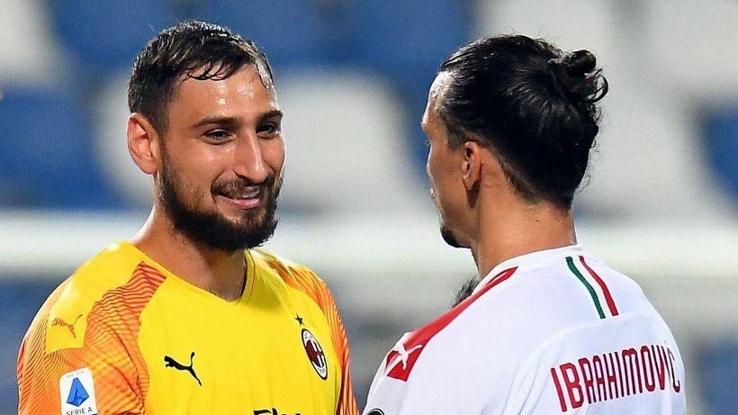Mercato Milan: novità sul futuro di Donnarumma e Ibrahimovic