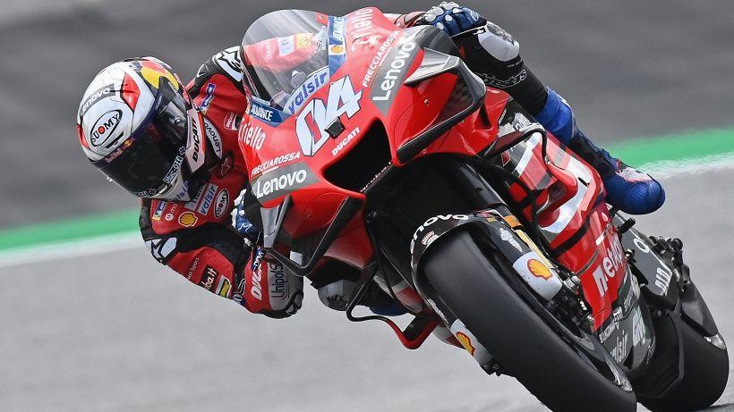MotoGp: trionfa Dovizioso, Valentino Rossi quinto dopo la paura