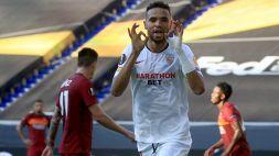 La Roma affonda a Duisburg: 2-0 Siviglia e addio Europa League