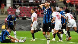 Inter, il sogno è sfumato. Il Siviglia vince l'Europa League