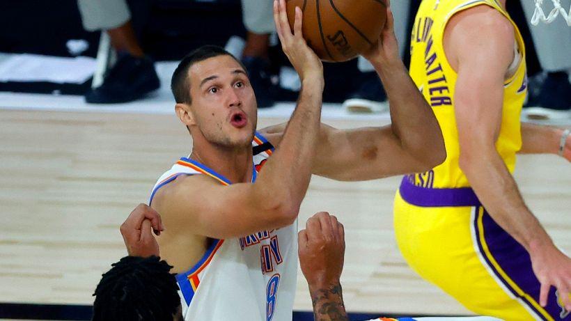 NBA, i Thunder di Gallinari battono i Lakers