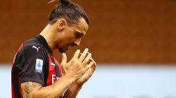Guaio Milan, Zlatan Ibrahimovic positivo al Coronavirus
