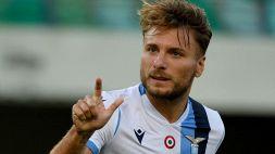 Immobile rinnova con la Lazio fino al 2025